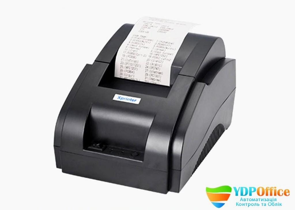 Принтер Чеків  Xprinter XP-58