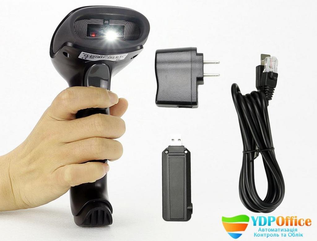 Сканер Штрих - Кодів Kercan KR-586 2.4G Бездротовий 2D QR